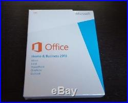 BRAND NEW Microsoft Office Home and Business 2013 Word Excel PowerPoint Outlook