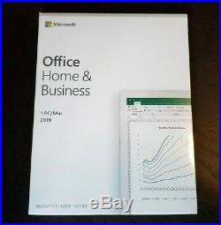 BRAND NEW Microsoft Office Home and Business 2019 Windows/Mac T5D-03203