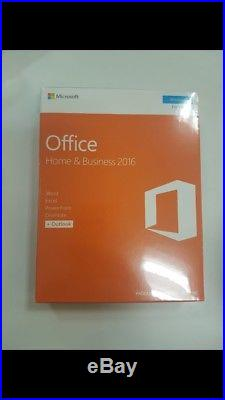 Brand new sealed Microsoft Office Home And Business 2016