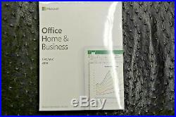 GENUINE Microsoft Office Home and Business 2019 For PC/Mac T5D-03203 New Release