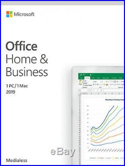 Genuine Microsoft Office Home and Business 2019 for PC/MAC SALE