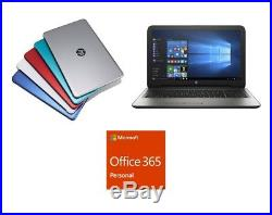HP 17.3 Laptop Computer 4GB 1TB Quad-Core Microsoft Office 365 Software Included