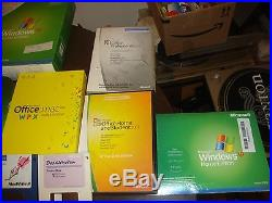 Lot of Microsoft Windows 7, Office, XP withPRODUCT KEYS. Etc etc 40 Software