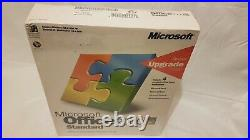 MICROSOFT OFFICE 2000 STANDARD, Special Upgrade. Sealed retail pack