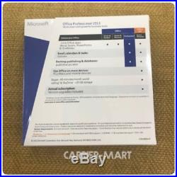 MICROSOFT Office Professional 2013 Product Key Card+DVD 1 PC FREE SHIPPING