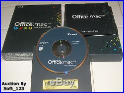 MS Microsoft Office MAC 2011 Home and Business Full Retail English Version =NEW=