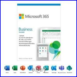 Microsoft 365 Business Standard 12-Month Subscription, 1 person Premium Offic