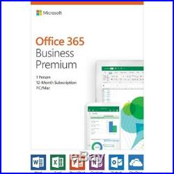 Microsoft KLQ-00378 Software Office 365 Business Premium Subscription 1 Year