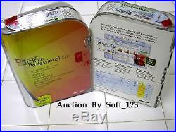 Microsoft Office 2007 Professional Full Version Licensed for 2 PCs =SEALED BOX=