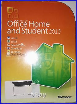 Microsoft Office 2010 Home & Student Deutsch Family Pack RETAIL x3 PC 79G-1904