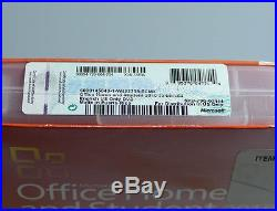 Microsoft Office 2010 Home Student Word Excel Powerpoint 79G-02144 new genuine