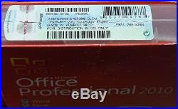 Microsoft Office 2010 Pro Professional 269-14964 Word Excel Outlook ++ genuine