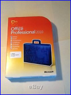 Microsoft Office 2010 Professional For 2 PC GENUINE Full Version