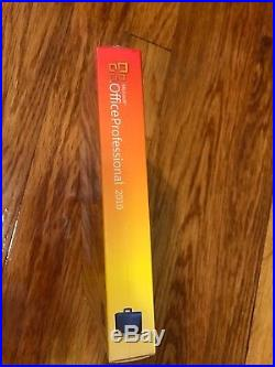 Microsoft Office 2010 Professional For 3 PCs Full Retail NEW SEALED Box Version