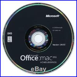Microsoft Office 2011 Home and Business Full Version for Mac