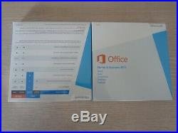 Microsoft Office 2013 Home and Business 32-bit/x64 With 1 DVD