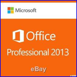 Microsoft Office 2013 Professional 3 User (retail Sealed)
