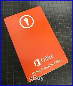 Microsoft Office 2016 Home & Business Product Key Word Excel PowerPoint OneNote