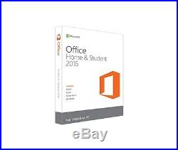 Microsoft Office 2016 Home & Student 1 PC