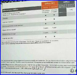 Microsoft Office 2016 Home and Business Windows Key Card & DVD for 1 PC
