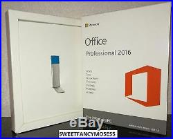 Microsoft Office 2016 Professional BRAND NEW with USB and Keys Unopened 1 PC
