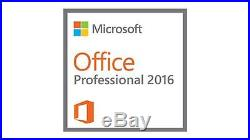 Microsoft Office 2016 Professional Full Version (not academic.) Download