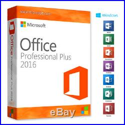 Microsoft Office 2016 Professional Plus Pro Plus KEY 60 SEC DELIVERY HOT BUY NOW