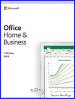 Microsoft Office 2019 Home & Business Box Pack NA/PR/TT Only T5D-03203