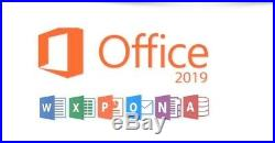 Microsoft Office 2019 Home & Business Genuine Activation Key for MAC