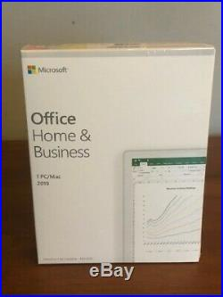 Microsoft Office 2019 Home & Business -Medialess Win, Mac box pack 1 licence