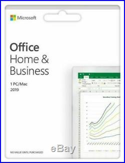 Microsoft Office 2019 Home & Business PC/MAC e-mail delivery within 24 hours