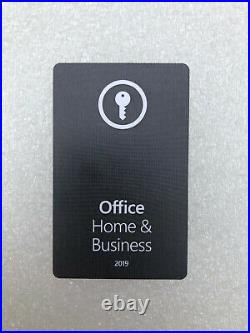 Microsoft Office 2019 Home and Business PC / MAC e-mail delivery