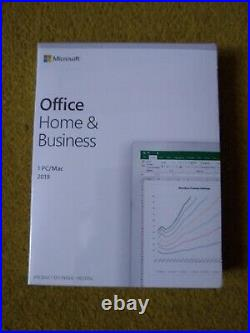 Microsoft Office 2019 Home and Business PC/Mac Retail