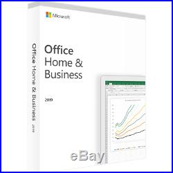 Microsoft Office 2019 Home and Business PKC