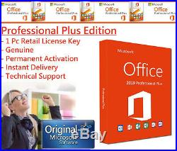 Microsoft Office 2019 Professional Plus Instant Delivery