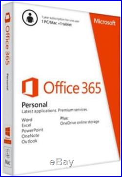 Microsoft Office 365 Personal 20% off ends 28/5