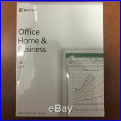 Microsoft Office Home And Business 2019, 1 Device, Windows 10 PC Keycard