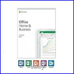 Microsoft Office Home And Business 2019 PC 1 Device Sealed (Lifetime)