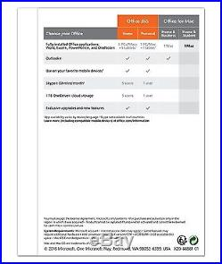 Microsoft Office Home & Student 2016 Product Key for Mac, 1-User License