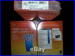 Full Retail Box SKU T5D-00417 Microsoft Office Home and Business 2010