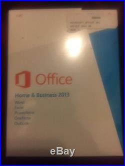 Microsoft Office Home and Business 2013 NEW GENUINE
