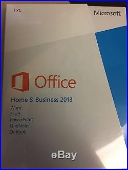 Microsoft Office Home and Business 2013 read description