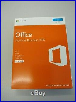 Microsoft Office Home and Business 2016 Windows PC Retail Boxed