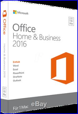 Microsoft Office Home and Business 2016 Windows Pc Key All languages included