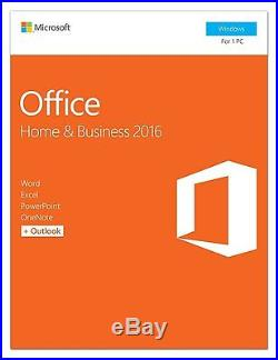 Microsoft Office Home and Business 2016 for Windows, 1-User License T5D-02776