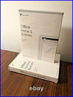 Microsoft Office Home and Business 2019 1 PC / MAC Genuine New & Sealed