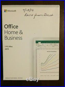 Microsoft Office Home and Business 2019 For 1 PC/Mac
