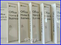 Microsoft Office Home and Business 2019 For PC & Mac (1 PC Liftime Subscription)