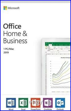 Microsoft Office Home and Business 2019 For PC/Mac T5D-03341 Retail Box