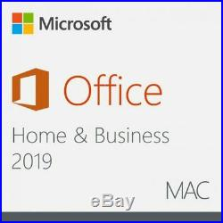 Microsoft Office Home and Business 2019 MAC